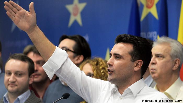 Mazedonischer Oppositionsführer Zoran Zaev