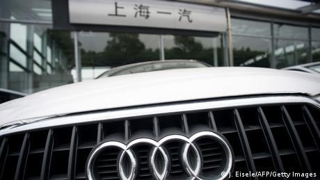 Symbolbild Autos deutscher Herstellung in China (J. Eisele/AFP/Getty Images)