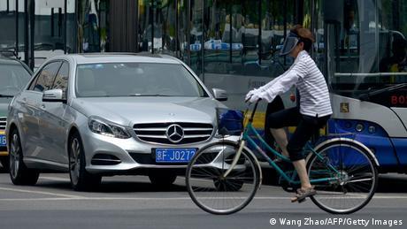 Symbolbild Autos deutscher Herstellung in China (Wang Zhao/AFP/Getty Images)