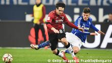 Bundesliga FC Schalke 04 vs. Hannover 96 31.1.2015 (Getty Images/S. Franklin/Bongarts)