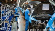 VW-Werk in Shanghai, China