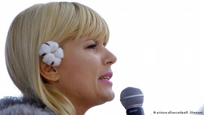 Elena Udrea, în timpul campaniei electorale din 2014