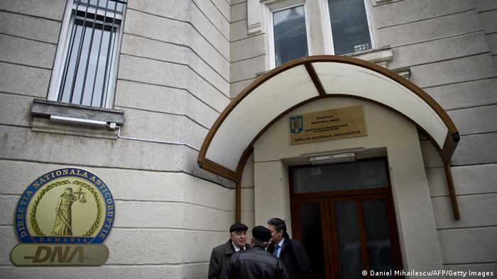 The office of Romania's anti-corruption watchdog, DNA