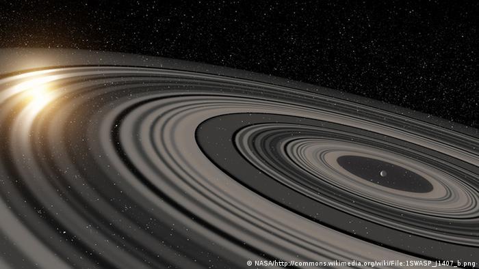 Planet 1SWASP J1407 b