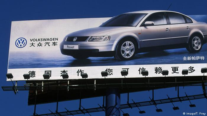 Volkswagen u Kini