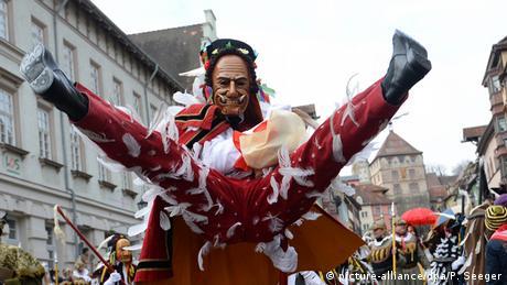 Rottweil - the Narrensprung - Fools' Jump procession