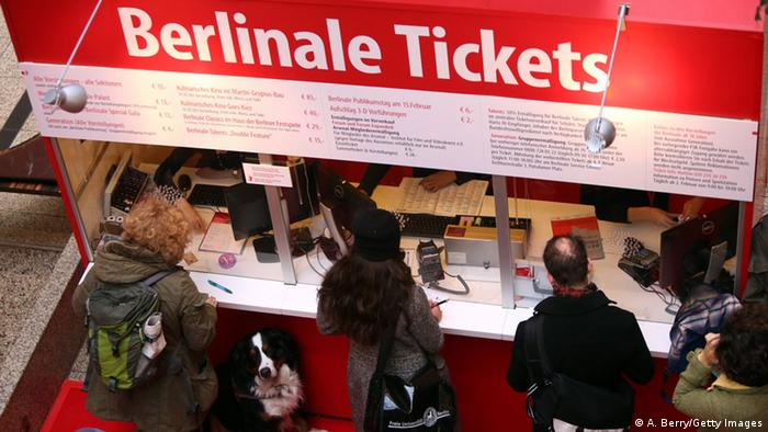 Berlinale 2015 - Ticketverkauf in den Potsdamer Platz Arkaden (A. Berry/Getty Images)