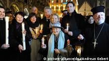 München Friedens-Lichterkette der Religionen 2.2.2015