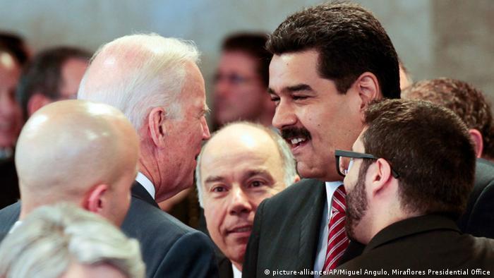 Brasilien Brasil Treffen von Biden und Maduro 1.1.2015