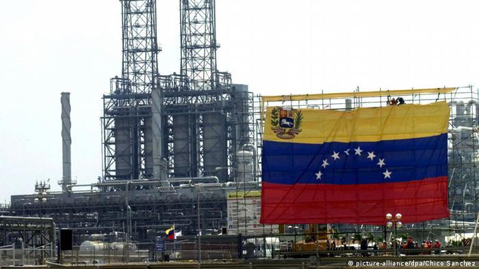 Venezuela stellt Ölverkauf an US-Firma Exxon Mobil ein (picture-alliance/dpa/Chico Sanchez)