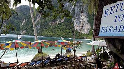 tote touristen thailand