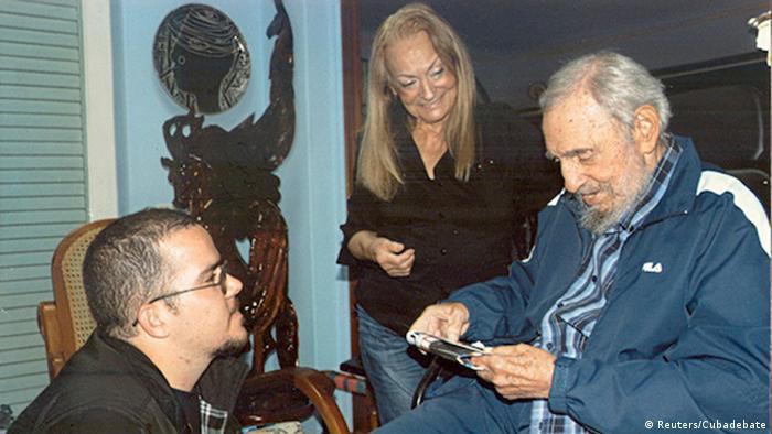 Kubanische Medien veröffentlichen Bilder von Fidel Castro 03.02.2015