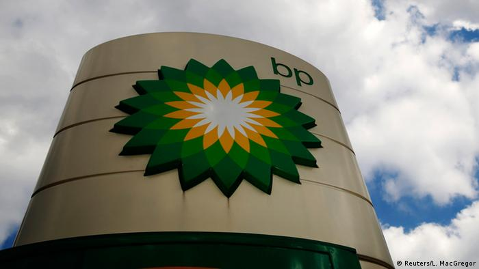 BP British Petroleum logo (Reuters/L. MacGregor)