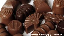 Schokolade, Pralinen, Quelle: Picture Alliance