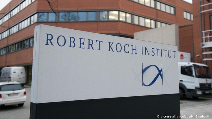 Hochsicherheitslabor Robert Koch-Institut (picture-alliance/dpa/M. Gambarini)