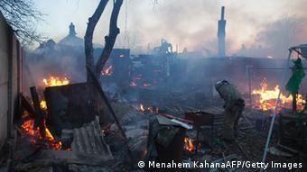 Ukraine Zerstörung Donezk