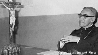 Oscar Romero en una foto de 1977.