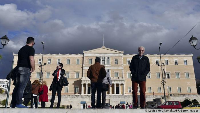 Griechenland Parlament 2.2.2015