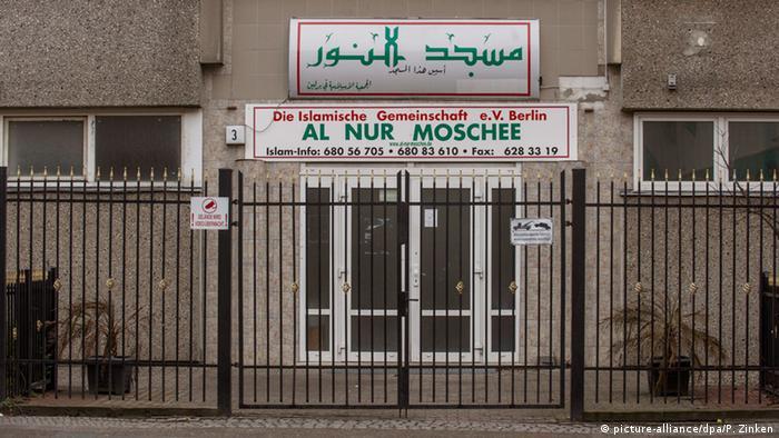 Berlin Al-Nur-Moschee (picture-alliance/dpa/P. Zinken)