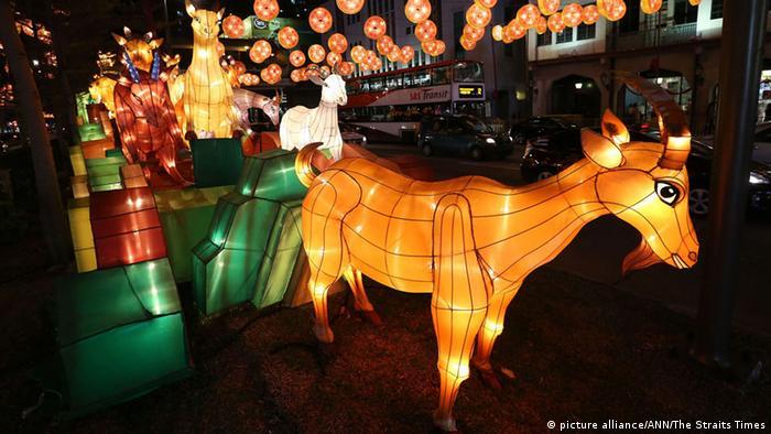 Symbolbild Chinesisches Neujahrsfest Frühlingsfest 2015