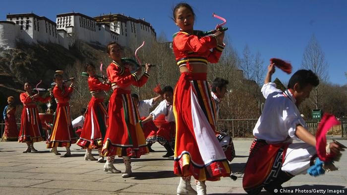 Tibet Neujahr Losar Potala