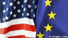 Flaggen EU und USA Symbolbild TTIP