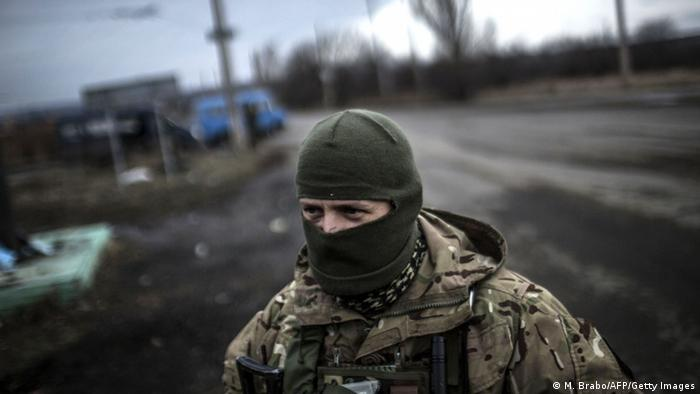 Kämpfe in der Ostukraine 03.02.2015 (Foto: MANU BRABO/AFP/Getty Images)