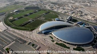 Aspire Dome, in Qatar