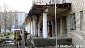 Внаслідок бойових дій у Донецьку було пошкоджено деякі медичні заклади