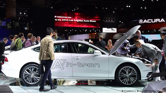 Prototipe mobil hidrogen Audi A7 h-tron diperkenalkan tahun 2014