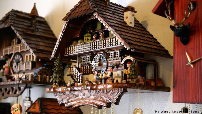 A Baden-Württemberg Black Forest cuckoo-clock
