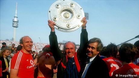 Udo Lattek Meisterschaft Bayern München 1986