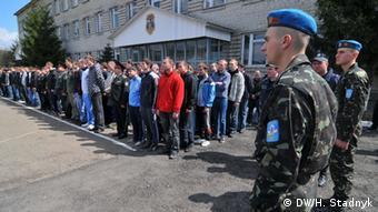 Армейский призыв в 2015 году. Львов