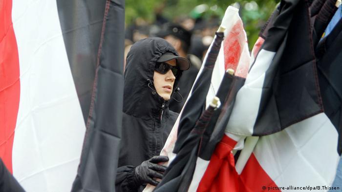 Dortmund Rechtsextremisten Neonazis Kundgebung 2007