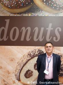 Ο γενικός διευθυντής της εταιρίας Donuts Duck, Β. Καμπάνταης