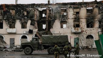 Kämpfe in der Ostukraine 4.2.2015