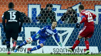 Bundesliga SC Paderborn 07 vs. Hamburg SV 4.2.2015
