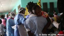Ebola Krankenhaus in Liberia