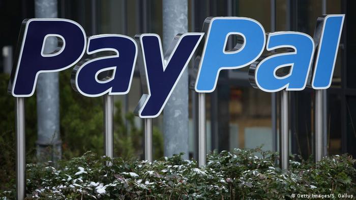 Логотип PayPal