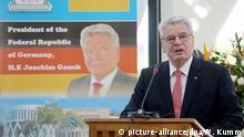 Bundespräsident Gauck in Tansania 05.02.2015