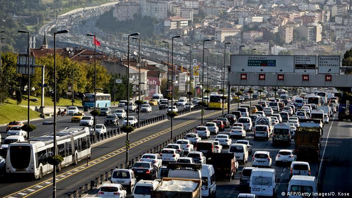 Stau in Istanbul
