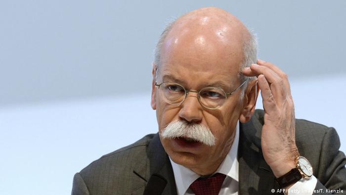 Who is Daimler's CEO Dieter Zetsche?