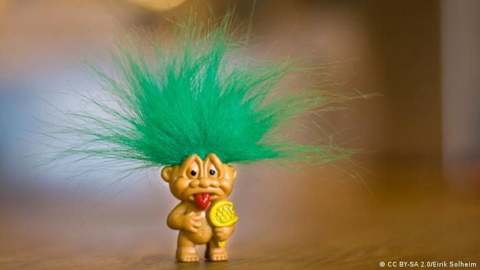 Troll-Puppe (Foto: https://www.flickr.com/photos/annabialkowska/118051286)