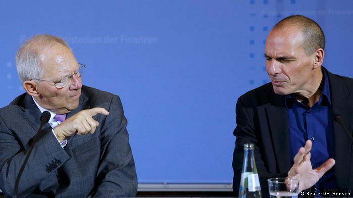 Griechenlands Finanzminister Varoufakis in Berlin 05.02.2015