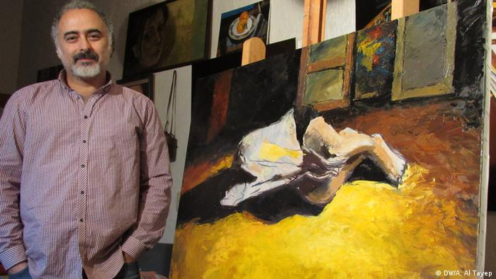 عبدالرزاق شبلوط، نقاش سوری