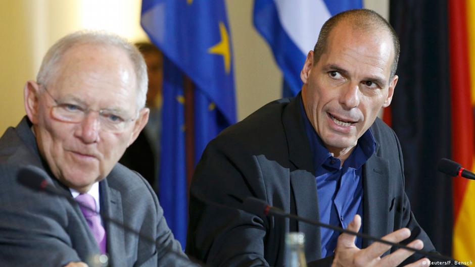 """MinFinanzas griego: """"Alemanes son mejores europeos que nosotros""""   DW   11.02.2015"""