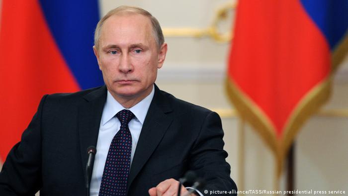 Putin beim Treffen mit Regierungsmitgliedern 04.02.2015