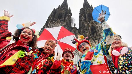 Carnival celebrations in Cologne