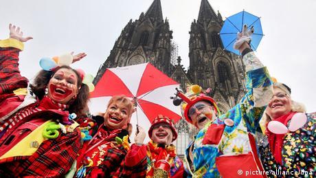 Carnival celebrations in Cologne