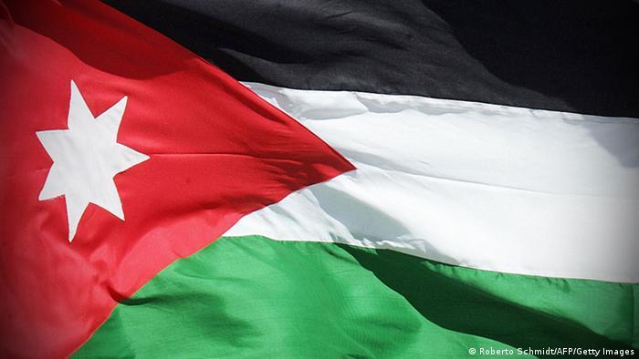 Flagge Jordanien Symbolbild NEU (Roberto Schmidt/AFP/Getty Images)